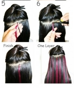 Deep Wavy Tape Hair Extensions 8