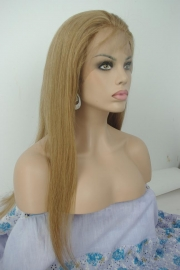 European Straight Wig Color 8