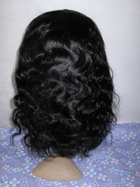 Body Wavy Lace Front Wig Color#1