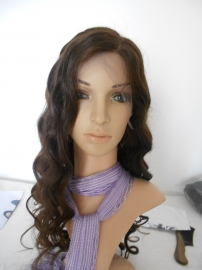 Brazilian Wavy Color #2 Full Lace Wig