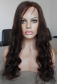 European Wavy Wig Color #3