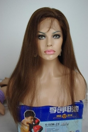 European Straight Wig Color #3