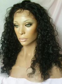 Indian Remy Curly Full Lace Wig
