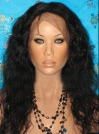 Wavy Full Lace Wig Color #1