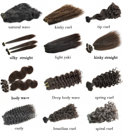 Silk Top Closure Kit (includes 1 silk top closure and 2 bundles of machine weft hair)