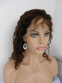 Wet n Wavy Color #2 Full Lace Wig