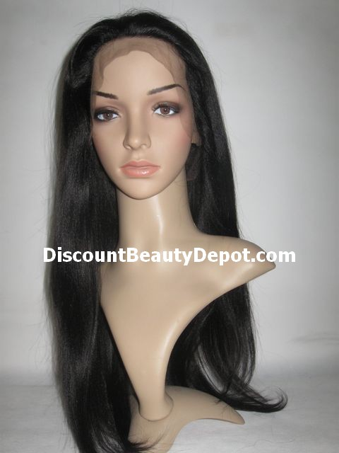 Yaki or Silky Lace Front Wig