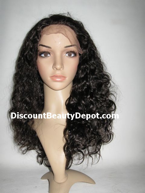 Deep Wavy Lace Front Wig Indian Remy