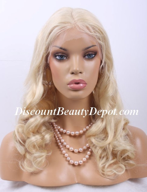Chinese Wavy Color #613 Full Lace Wig
