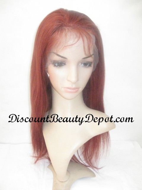 Color #35 Full Lace Wig Chinese