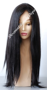 Custom Full Lace Silky Straight Wig