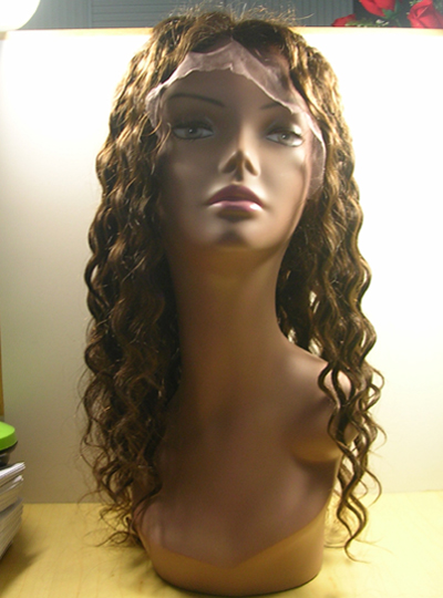 Custom Wavy Wig with Highlights