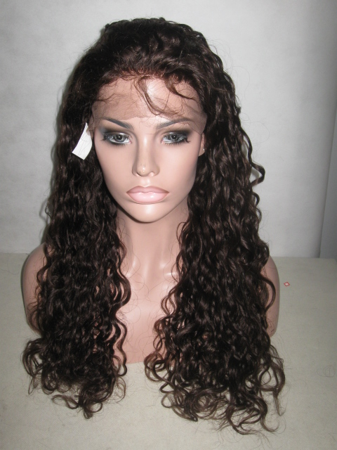 Lace Front Wig Curly Color #3