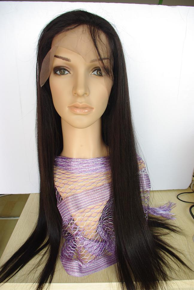 Malaysian Straight Wig Natural Color