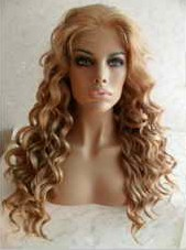 Colors #86/27/613 Synthetic Lace Front Wig