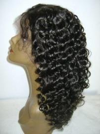 Custom Deep Curly Full Lace Color #1