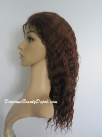 Glueless Cap Deep Wave Brazilian Color #4