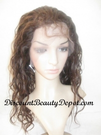 Custom Natural Wave Full Lace Wig Color#3