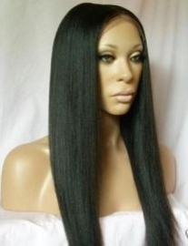 Brazilian Bone Straight Full lace Wig