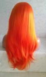 orange-synthetic-lace-front-wig