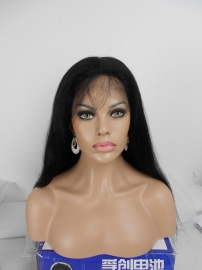 Silky Top Full LAce Wig Color #1