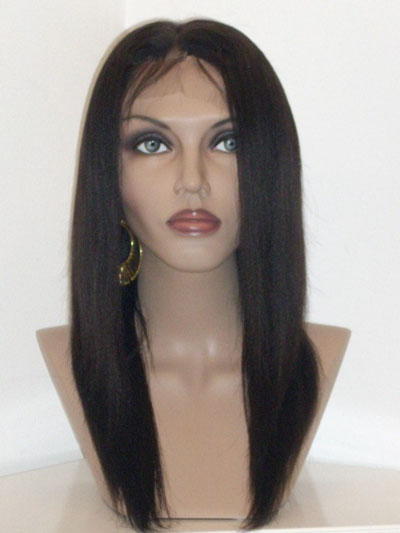Stock Full Lace Wig Yaki Straight