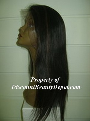 1b/30 straight full lace wig