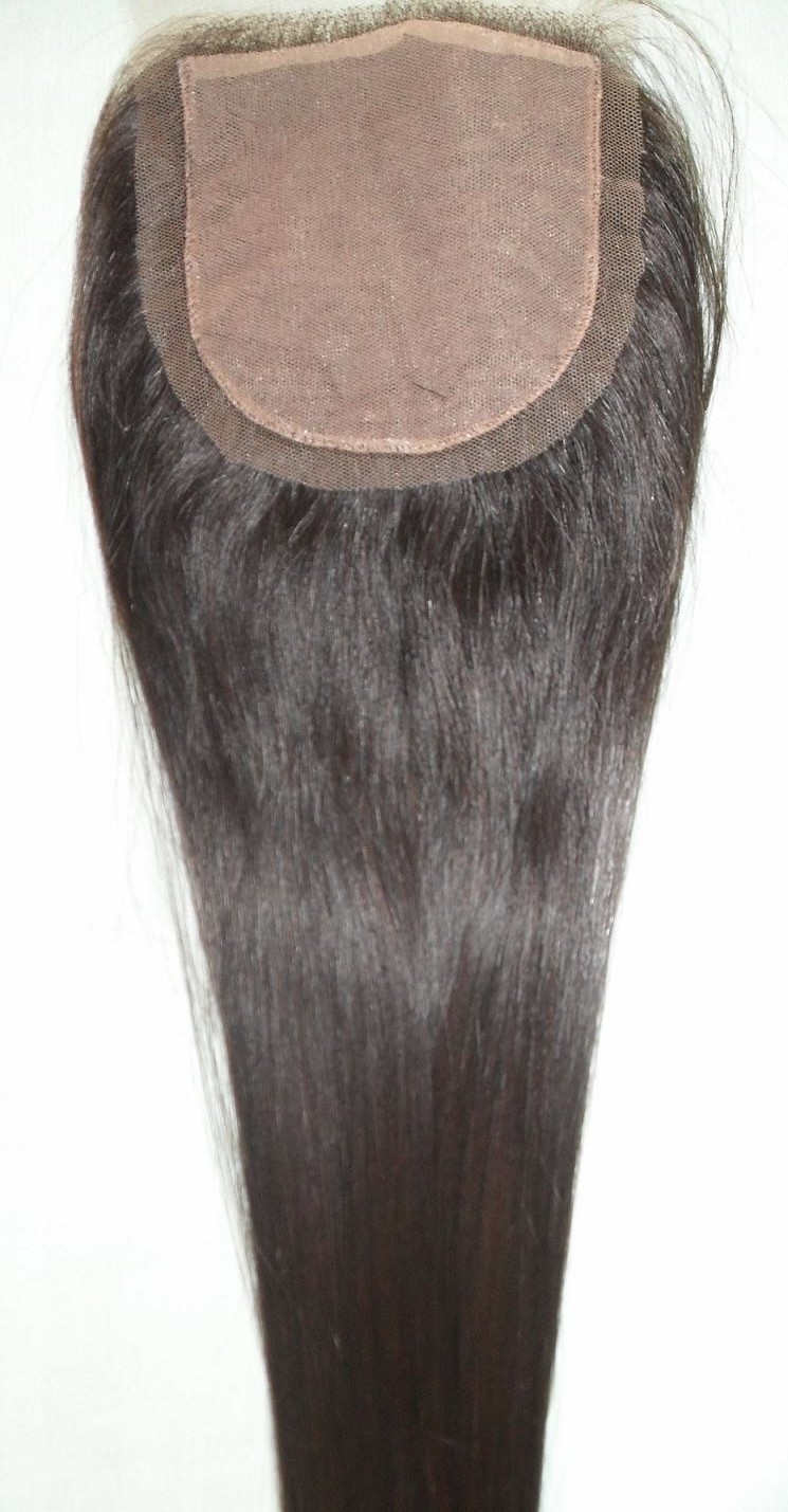 Straight Silk Top Closure